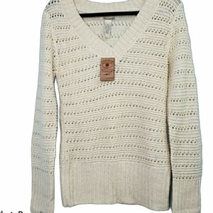 Lucky Brand Glitter Sweater New Size Medium